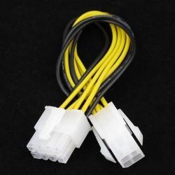 PSU 4pin naar 8pin converter verleng kabel