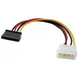 4 pin molex naar 15 pin Sata kabel