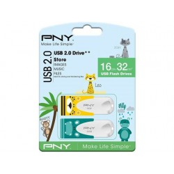 PNY Animals Design 2-pack...