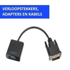 Verloopstekkers, Adapters en Kabels